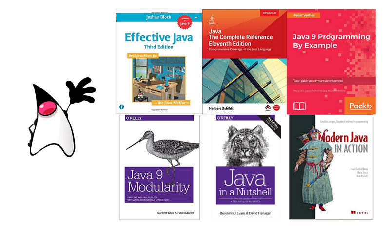 Top 6 Best Books for learning Java Programming